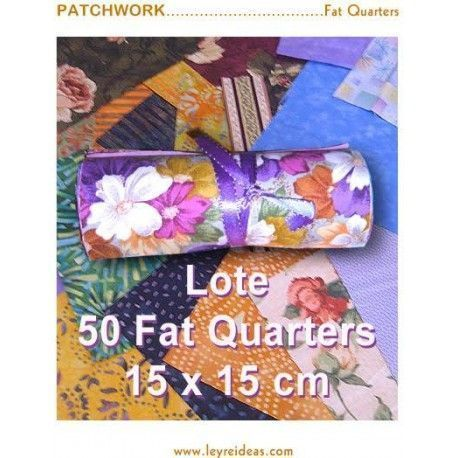 Lote 50 fats 15x15 cms