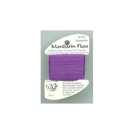 M899. MANDARIN FLOSS. ANTIQUE VIOLET