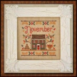 November Cottage. Country Cottage
