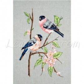 Bull Finches Embroidery Kit