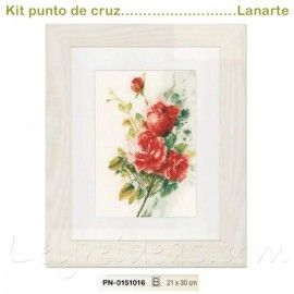 Red Roses Bouquet (21x30 cm)