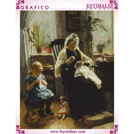 Sewing With Grandmother