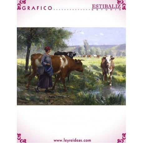 The Young Milkmaid