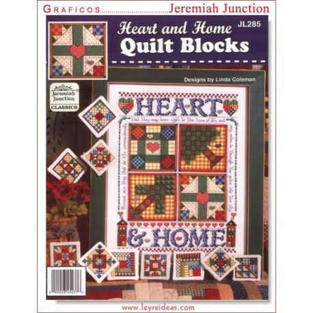 Heart and Home Quilt Blocks