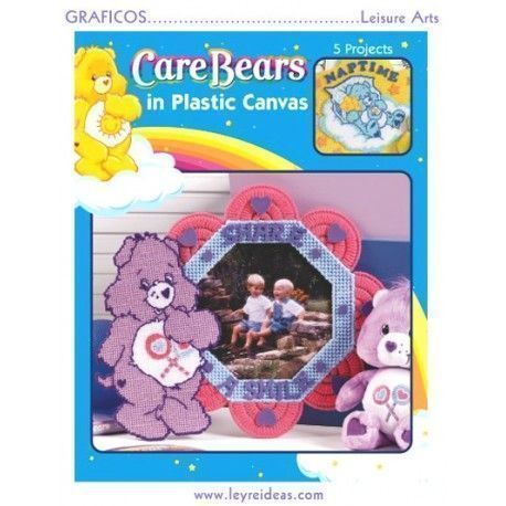 Care Bears in Plastic Canvas (5 diseños)