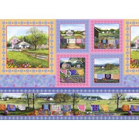 Panel Country Quilt