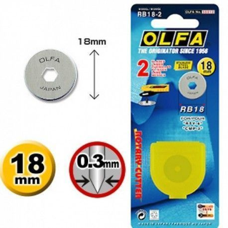 Cuchilla cutter 18 mm OLFA