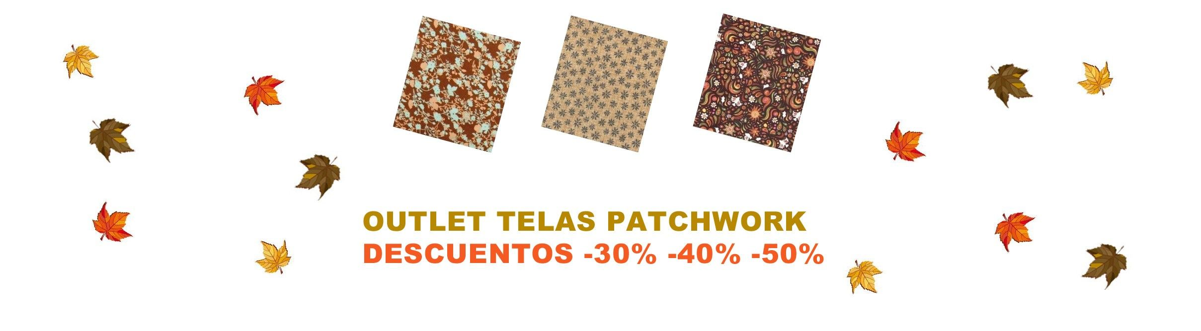 OUTLET TELAS PATCH